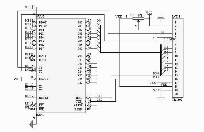[硬件电路] [源代码] //tx-1b实验板12864液晶测试